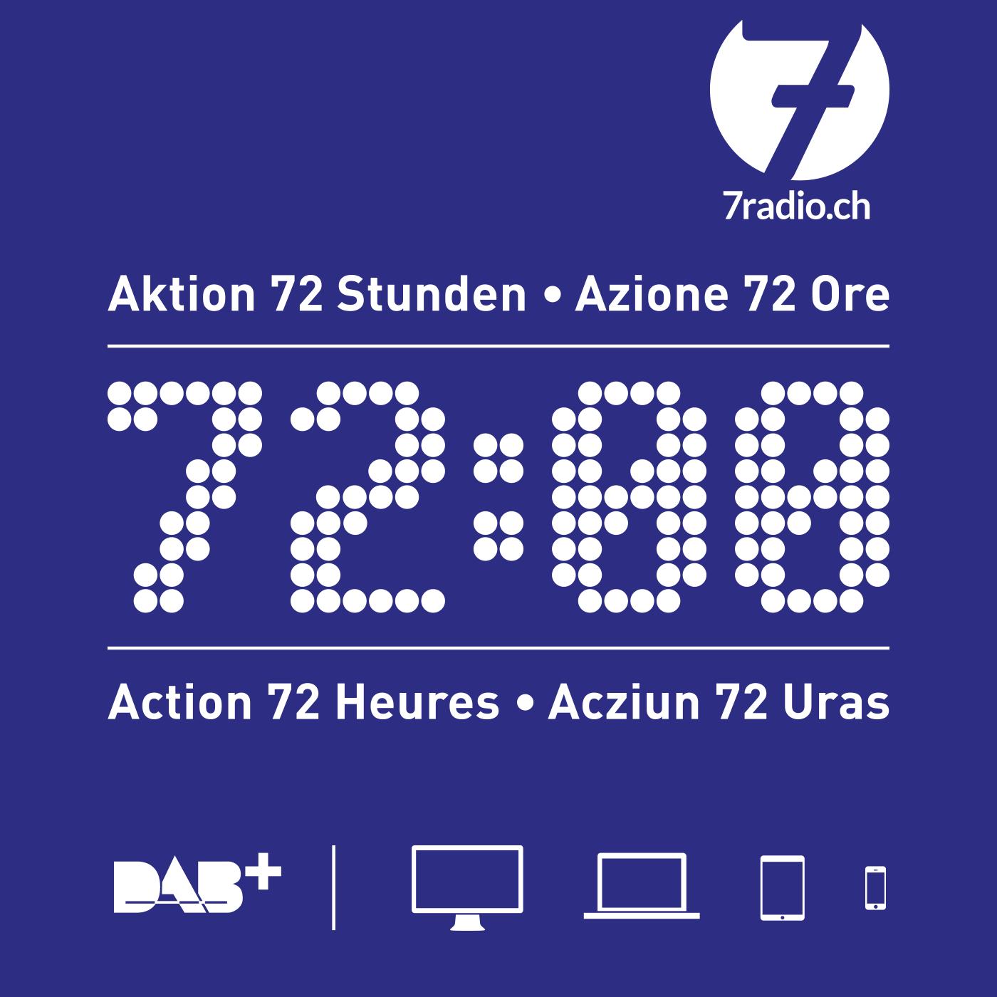 7radio | 72 heures de direct non-stop